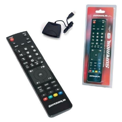 Telecomando Universale Per Tv Sat Hifi Superior Programmabile + Prog