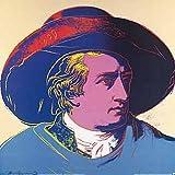 Kunstdruck/Poster: Andy Warhol Goethe 1982