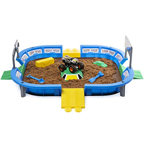 The Monster Jam Dirt Arena is one of the best toys for 3-year-old boys this year