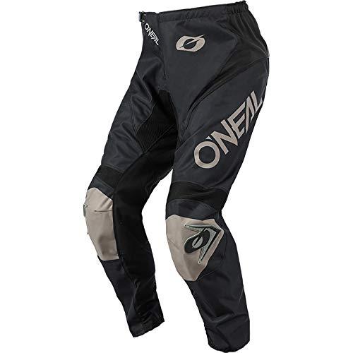 O'Neal | Maglia | Enduro Motocross | Tessuto Traspirante, Massima libertà di Movimento, Schiena estesa | Maglia Matrix Ridewear | Adulto | Nero Grigio | Taglia L