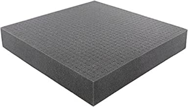 Pick and Pluck - Pre-Cubed foam tray 300 mm x 300 mm x 50 mm (11.8 inch x 11.8 inch x 2 inch) plus FREE bottom