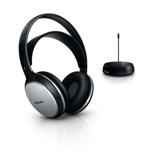 Philips SHC5100 Cuffie Hi-Fi FM Wireless Ricaricabili,...