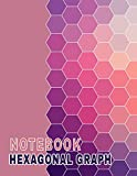 Hexagonal Graph Notebook: Blank Hexagon Paper 120 Pages 8.5x11 Scientific Research Laboratory Book for Science Bio Or Organic Chemistry Student Experiment/ Teacher / College / School Supplies
