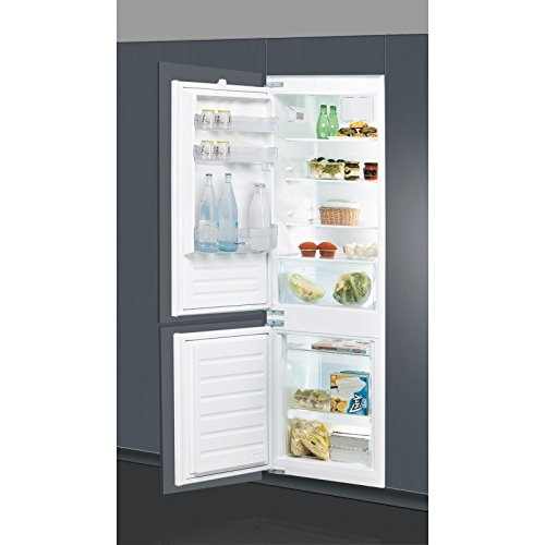 Indesit B 18 A1 D V E S/I Incasso 275L A+ Acciaio spazzolato frigorifero con congelatore