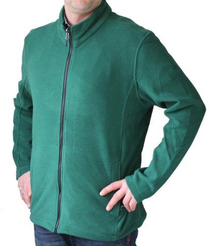 McKinley Herren Freizeit-Wander-Fleece-Jacke White Mountain 2 posy grün, Größe:XXL