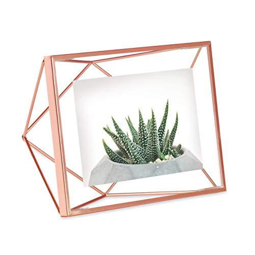 Umbra Prisma - Marco de Fotos, 10.25 x 15.25 cm, Color Cobre
