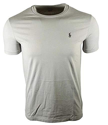 Polo Ralph Lauren Herren-T-Shirt mit Rundhalsausschnitt, Grau M