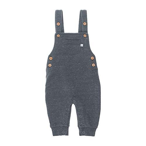 Feetje Baby Hose Latzhose Grau Retro Design, Größe:62 2-6 Monate