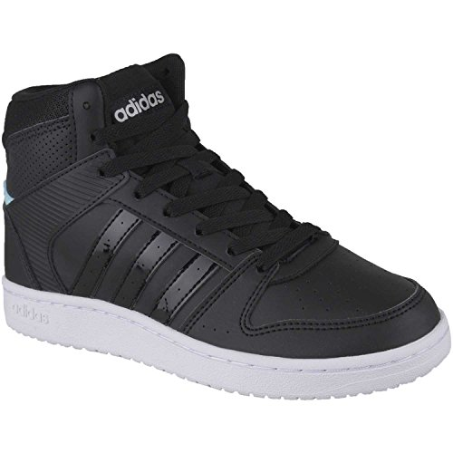 adidas - VS Hoopster Mid - B74237 - Farbe: Schwarz - Größe: 36 2/3 EU