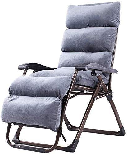 Yuany - Silla de jardín reclinable, mecedora de jardín para exteriores, silla de relax individual acolchada, silla de jardín con cojín: Amazon.es: Hogar