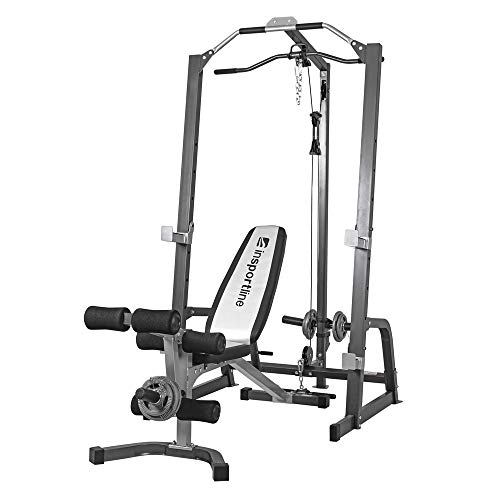 InSPORTline Power Rack – Durevole multifunzione Workout & Fitness Station – Home Gym CrossFit...