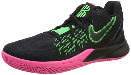 Nike Kyrie Flytrap II, Zapatillas de Baloncesto para Hombre, Multicolor (Black/Black/Hyper Pink/Rage Green 5), 40.5 EU