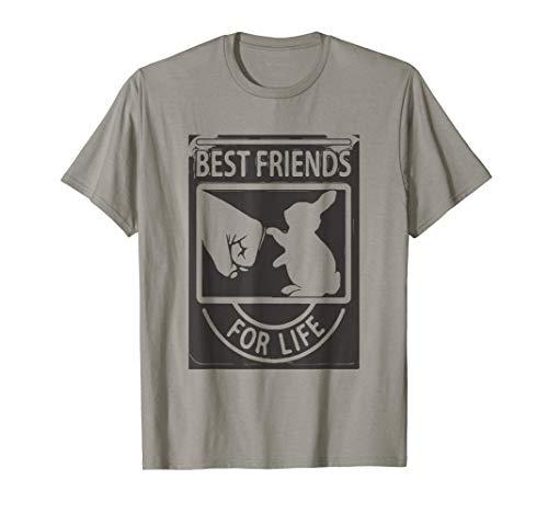 Hasen Kaninchen beste Freunde fürs Leben Haustier Geschenke T-Shirt