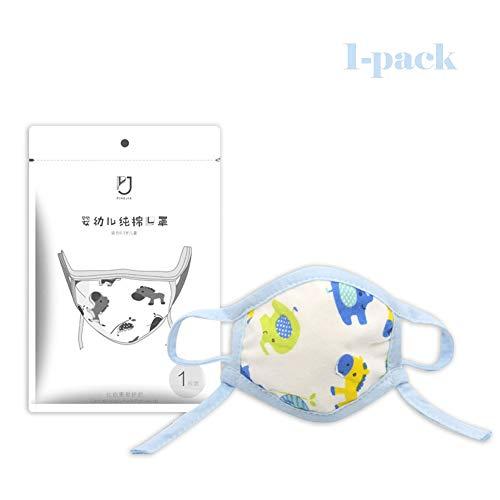 KOOMZK Atmungsaktiv, bequem, wiederverwendbarer, Baby Maske, geeignet for 0-36 Monate Baby/Maske Handel Nicht for Geld verdient, nur Freunde zu Machen (Farbe : Hippopotamus)