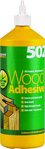 Everbuild WOOD1 - Colla impermeabile per legno, 1 L