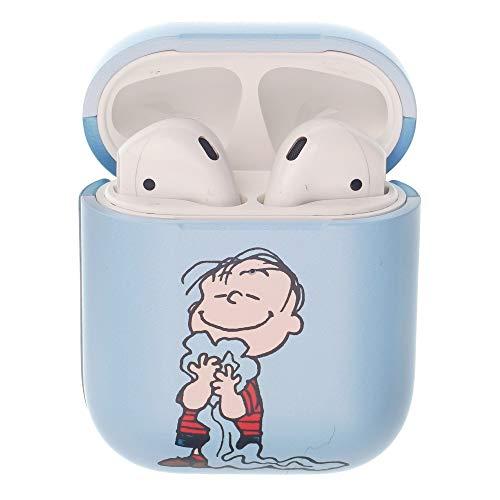 Peanuts Linus Van Pelt ピーナッツ ライナス ヴァン ペルト AirPods と互換性があります ケース エアーポッズ用ケース 硬い スリム ハード カバー (ハッピー ライナス) [並行輸入品]