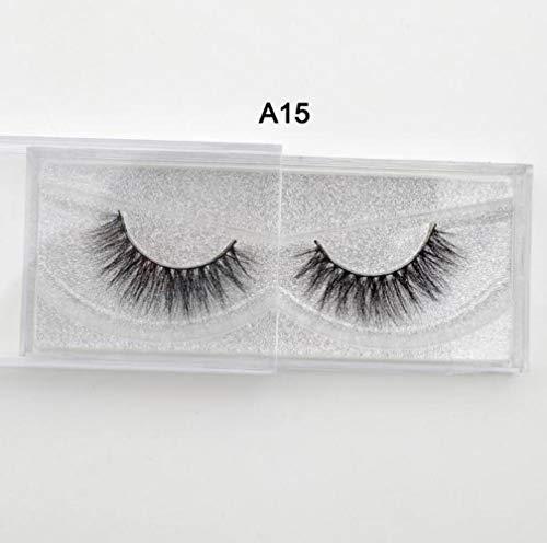 SELLA Eyelashes 3D mink eyelashes long lasting mink lashes natural dramatic volume eyelashes extension false eyelashes A20,visofree A15