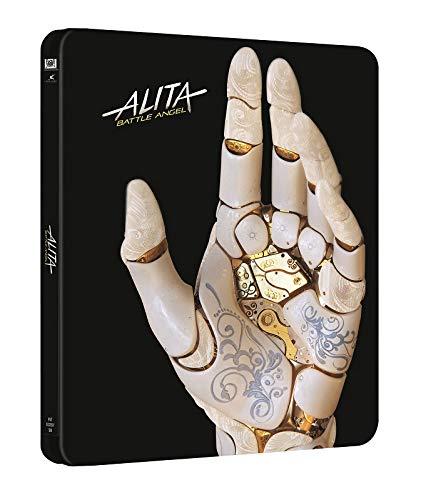 Alita Battle Angel Limited Edition Steelbook 4K UHD + Blu Ray [Nordic Import]