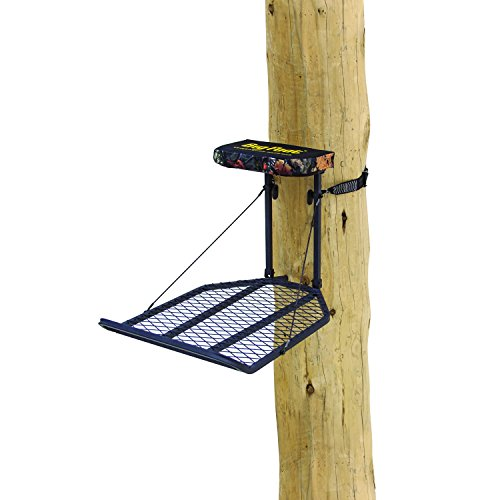 """Rivers Edge RE554, Big Foot XL Classic, Lever-Action Hang-On Tree Stand with Padded Flip-up Seat, Large 36.5"""" x 24"""" Platform, Footrest"""