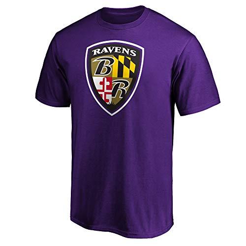Fanatics NFL Football T-Shirt Baltimore Ravens Hometown Fanshirt (XL)