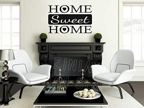 Yaonuli muursticker, modern, van vinyl, voor thuis, voor deuren, slaapkamer, entree