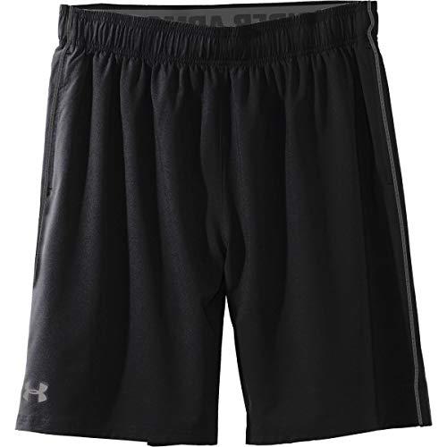 Under Armour Men's Raid 10-Inch Shorts (Large, Pure Black)