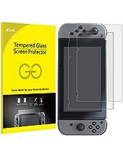 JETech Schermbeschermer Compatibel met Nintendo Switch 2017, Gehard Glas Screen Protector, 2-Stuks