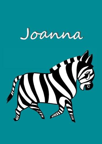 Malbuch / Notizbuch / Tagebuch - Joanna: A4 - blanko
