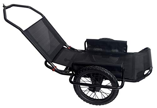 Rambo R180 Aluminum Bike/Hand Cart, Black, One Size