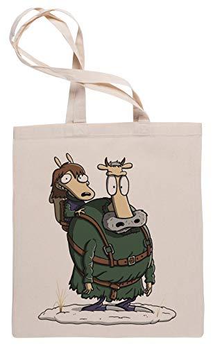 Wigoro Brans Modern Leben Einkaufstasche Tote Beige Shopping Bag