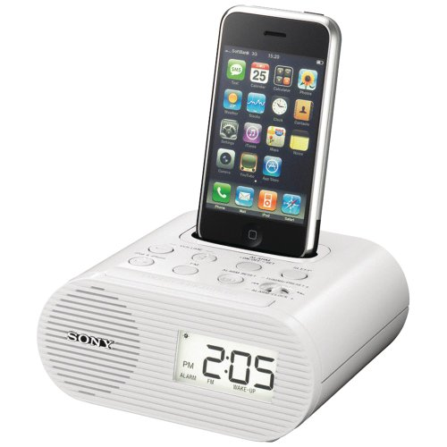 dock stations for ipods Sony ICFC05iP 30-Pin iPod Alarm Clock Speaker Dock