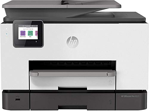HP OfficeJet Pro 9025 All-in-One Printer, with Smart Tasks for Smart Office Productivity (1MR66A#A2L)