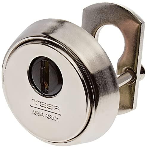 Tesa Assa Abloy E700L26LN Escudo de alta seguridad para puerta E700L, Laton Niquelado