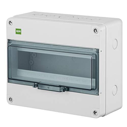 Sicherungskasten Kleinverteiler Feuchtraum Unterverteilung IP65 1reihig f.13 Automaten Außenbereich