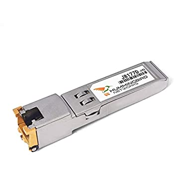 SFP to RJ45 for HPE Procurve J8177B J8177C J8177D 1000BASE-T Mini-GBIC Fiber Optical Copper SFP Transceiver Module Pack of 4 100m
