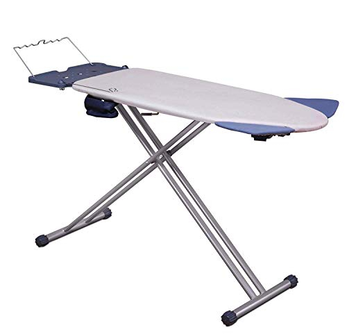 Mabel Home Extra-Wide ironing Pro Board with Shoulder Wing Folding, 8 Feature, with + Extra Cover