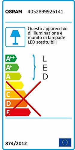 OSRAM LIGHTIFY LED-Einbauspot, Downlight Tunable White / dimmbar / warmweiß bis tageslicht 2700K – 6500K /Kompatibel mit Alexa - 6