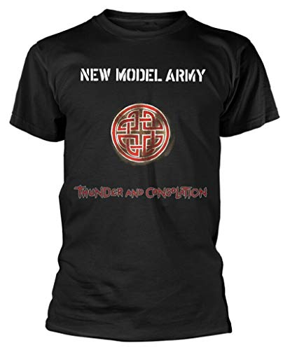 Ooiubgg New Model Army 'Thunder and Consolation' (Black) T-Shirt