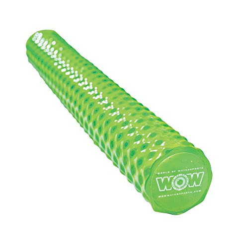 WOW World of Waterspoorts 17-2060LG First Class Soft Dipped Foam Pool Noodles, Lime Green (Renewed)