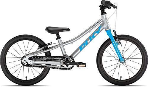 Puky LS Pro 18-1 Alu Kinder Fahrrad silberfarben/blau