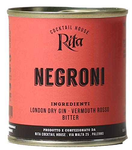 Cocktail Negroni - Rita Cocktail House - Latta da 100ml