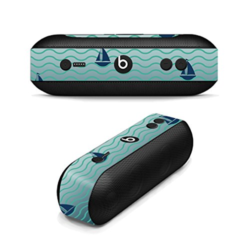 MightySkins Skin Compatible with Beats by Dr. Dre Beats Pill Plus wrap Cover Sticker Skins Smooth Sailing