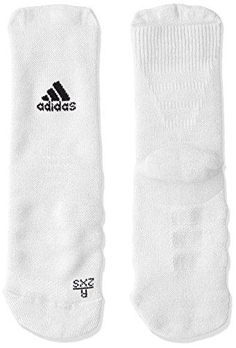 adidas Ask CR MC Socks, Unisex Adulto, White/Black, 43-45