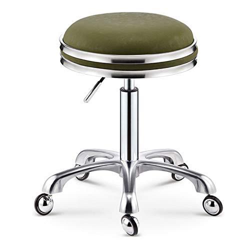 AOACD 360° draaibare kruk, verstelbare werkstoel hydraulische tatoeage spa massage stoel PU leer dikke vulling