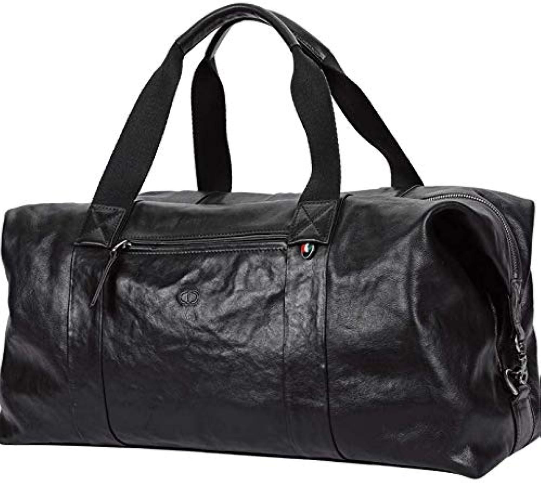 Handtasche Große Kapazität Einfach Gepäcktasche Fitness-Tasche Kurzstrecken-Reisepaket Männer Leder B07Q888X7S  Geschwindigkeitsrückerstattung