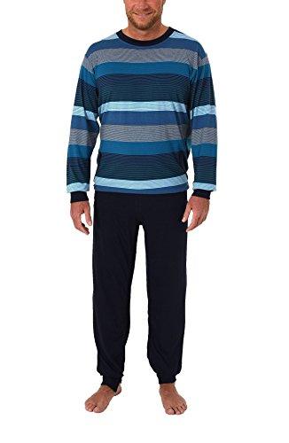 Normann Care Herren Pflegeoverall Langarm mit Reissverschluss am Rücken und Bein 271 170 90 755, Farbe:türkis, Größe2:S