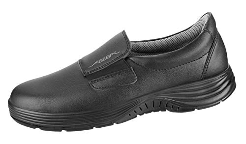Abeba S-Schuh x-Light Slipper sw, SRC-Sohle, Mikro, 711029, CE, EN ISO 20345:2012, S2, Gr. 35-48 (46 EU)