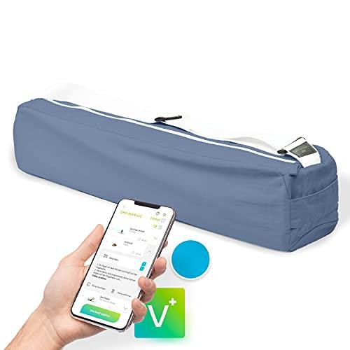 Vesta+ Yoga Tasche für Yogamatte + Fitness App, Yogatasche aus Bio-Baumwolle, Yogamatte Tragetasche mit Tragegurt verstellbar, Die ökologische Yogamatte Tasche für das...