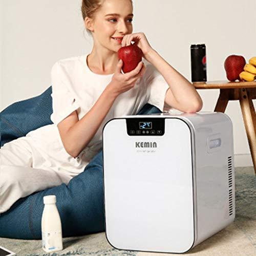 GAOXIAOMEI Mini Frigorífico 20 L / 27 Puede Portátil Mini Cooler & Warmer para Bebidas, Cosméticos/Maquillaje/Skincare, AC/DC Power, para Dormitorio, Hogar, Coche [Energy Class A +]