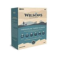NEW! Wilsons Premium British Cold Pressed Dog Food | Farmhouse Turkey & Duck 2kg Eco Pack | Quality ...